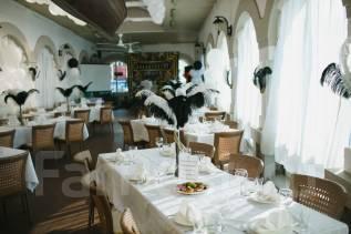 Декор. Перья страусиные белые и черные.