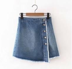 Юбки джинсовые. 44, 46, 48
