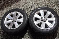 Пара японских зимних шин Bridgestone 255/55/18 + литье. x18 5x114.30