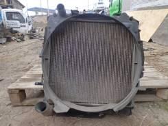 Радиатор охлаждения двигателя. Isuzu Elf, NKR71 Двигатель 4HL1