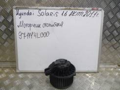 Мотор печки. Hyundai Solaris
