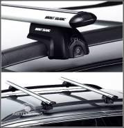Багажник Mont Blanc Flex 2 c алюминиевыми поперечинами для HONDA Pilot 2002- на рейлинги
