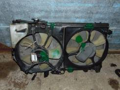 Радиатор охлаждения двигателя. Toyota Corsa, EL51 Двигатель 4EFE