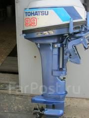 Tohatsu. 9,90л.с., 2-тактный, бензиновый, нога L (508 мм), Год: 2003 год