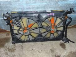 Радиатор охлаждения двигателя. Toyota Vista Ardeo, ZZV50 Двигатель 1ZZFE