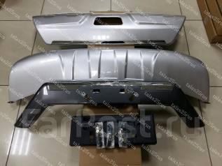 Накладка на бампер. Nissan X-Trail, HNT32, HT32, NHT32, NT32, T32