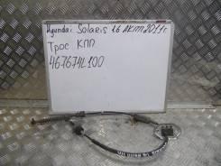 Тросик переключения автомата. Hyundai Solaris