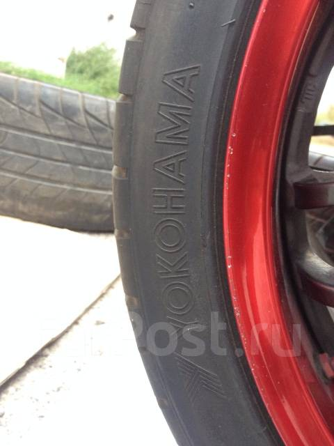 Yokohama Grand Prix M5. Летние, 2011 год, износ: 30%, 2 шт