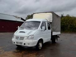 ГАЗ 33023. Грузовой фургон борт-тент газель 33023 2011 года, 2 464 куб. см., 1 300 кг.