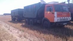 Камаз 5511. с Прицепом, 10 000 куб. см., 10 000 кг.