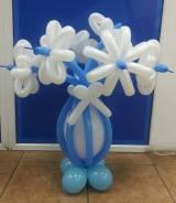 Цветы из воздушных шаров. Под заказ