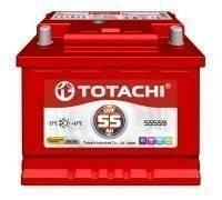 Totachi. 55 А.ч., левое крепление, производство Япония