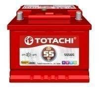Totachi. 55 А.ч., правое крепление, производство Япония