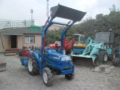 Iseki. Трактор с погрузчиком, реверс, ГУР, 23,5 л. с., фреза в комплекте, ПСМ