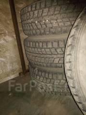 Колеса Dunlop на дисках 185/70/14. 6.0x14 4x100.00 ET45 ЦО 45,0мм.