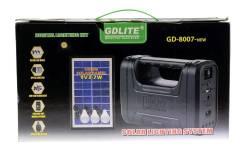 Фонарь солн. батарея GDLITE GD-8007