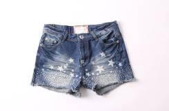 Шорты джинсовые. 58, 60