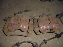 Суппорт тормозной. Honda Accord, CF4