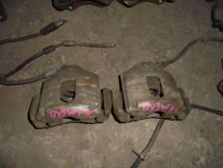 Суппорт тормозной. Mazda Demio, DY3W