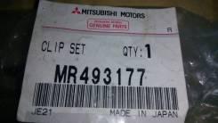 Зажим тормозной колодки. Mitsubishi: Outlander, Airtrek, Grandis, eK-Wagon, Toppo BJ Wide, Minica, Lancer Evolution, Delica, Town Box, Toppo BJ, Pajer...