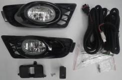 Фара противотуманная. Honda Civic Hybrid Honda Civic, FD1, FD2, FD3 Двигатели: LDA2, R16A1, R18A, R18A1, R16A2, R18A2