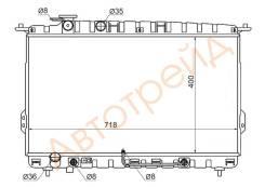 Радиатор HYUNDAI SONATA (TAGAZ) 2.0/2.4/2.5/2.7//HYUNDAI XG 2.5 98-(трубчатый) SAT SG-HY0006