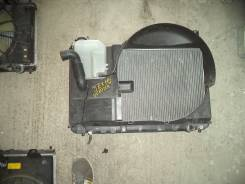 Радиатор охлаждения двигателя. Toyota Mark II Wagon Blit, JZX110, JZX110W Toyota Verossa, JZX110 Toyota Mark II, JZX110 Двигатель 1JZFSE