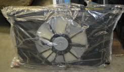Радиатор охлаждения двигателя. Toyota Wish, ZNE10
