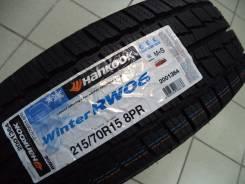Hankook Winter RW06. Зимние, без шипов, 2015 год, без износа, 4 шт
