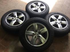 """Кама flamе 205/65+диски промо """"каньон"""" 5х139.7 р16 колёса новые. 6.5x16 5x139.70 ET40 ЦО 98,6мм."""