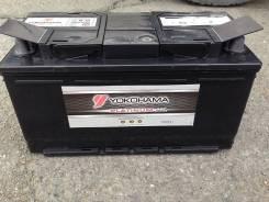 Yokohama Batteries. 100 А.ч., левое крепление, производство Япония
