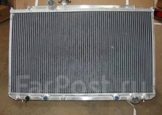 Радиатор охлаждения двигателя. Toyota Mark II Wagon Blit, JZX110 Toyota Verossa, JZX110 Toyota Mark II, JZX110, JZX100, GX110 Двигатель 1JZGTE