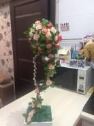 Оформление свадебных деревьев
