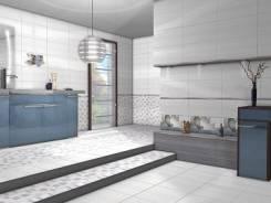Кафель настенный Меланж голубой верх /1064972/ 500*250 мм