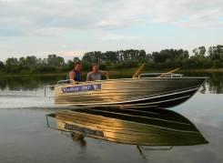 Wyatboat. длина 4,90м., двигатель подвесной, 60,00л.с.