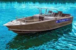 Wyatboat. длина 4,60м., двигатель подвесной, 50,00л.с. Под заказ