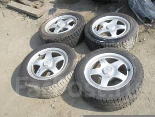 Комплект колес Beat pro R16 + резина зима ЖИР!. 7.0x16 4x114.30, 5x114.30 ET35