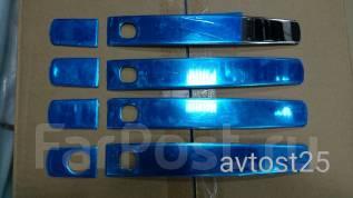 Накладка на ручки дверей. Toyota Land Cruiser, UZJ200W, VDJ200, GRJ200, URJ200, URJ202, UZJ200