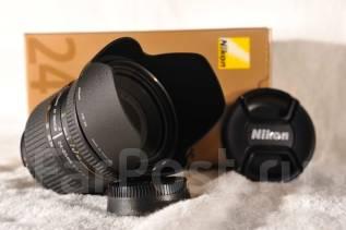 Продам объектив Nikon 24-85mm f/2.8-4D IF AF Zoom-Nikkor Хабаровск. Для Как штатный обьектив, диаметр фильтра 72 мм