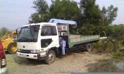 Nissan Diesel Condor. Продам кран манипулятор nissan disel condor, 6 910 куб. см., 5 000 кг.