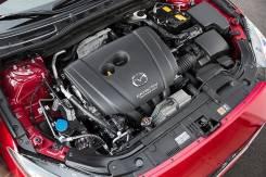 Двигатель в сборе. Mazda: Proceed Levante, MX-6, Familia S-Wagon, Premacy, Eunos 800, Atenza, Bongo Brawny, CX-7, Bongo Friendee, Proceed, Autozam Cle...