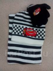Шапка, шарф и перчатки. Рост: 122-128 см