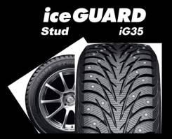 Yokohama Ice Guard IG35. Зимние, шипованные, 2015 год, без износа, 1 шт