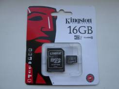 MicroSD. 16 Гб, интерфейс micro sd