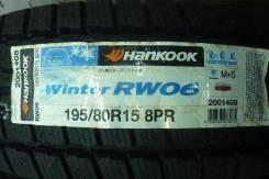 Hankook Winter RW06. Зимние, без шипов, 2015 год, без износа, 2 шт