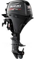 Suzuki. 20,00л.с., 4х тактный, бензин, нога S (381 мм), Год: 2013 год