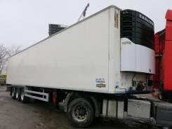 Chereau. Рефрижератор Krone SD двухярусный 2008г. Carrier Vector 1850., 35 000 кг.