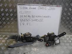 Ремень безопасности. Nissan Almera Classic, B10