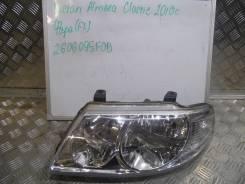 Фара. Nissan Almera Classic, B10 Nissan Almera, B10RS Двигатель QG16