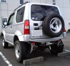 Бампер. Suzuki Jimny Sierra, JB43W, JB33W Suzuki Jimny Wide, JB33W, JB43W. Под заказ